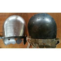 Paire de bras d'armure fin 14ème siècle