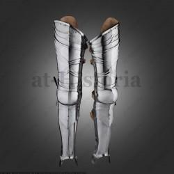 Jambes d'armures complètes...