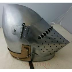 Bacinet de combat 14ème siècle