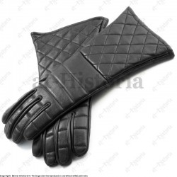 Gants de cuir molletonnés