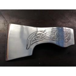 Tête de hache de combat viking